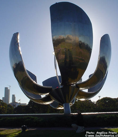Steel Flower of Buenos Aires Argentina by Eduardo Catalano ...