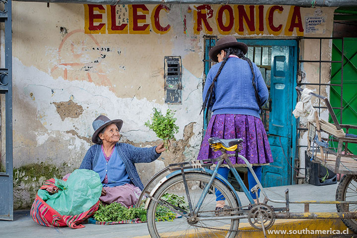 A slice of life in Peru