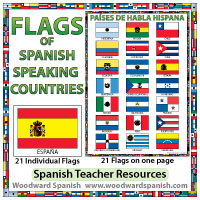Flags of Spanish-speaking Countries - Spanish Teacher Resources